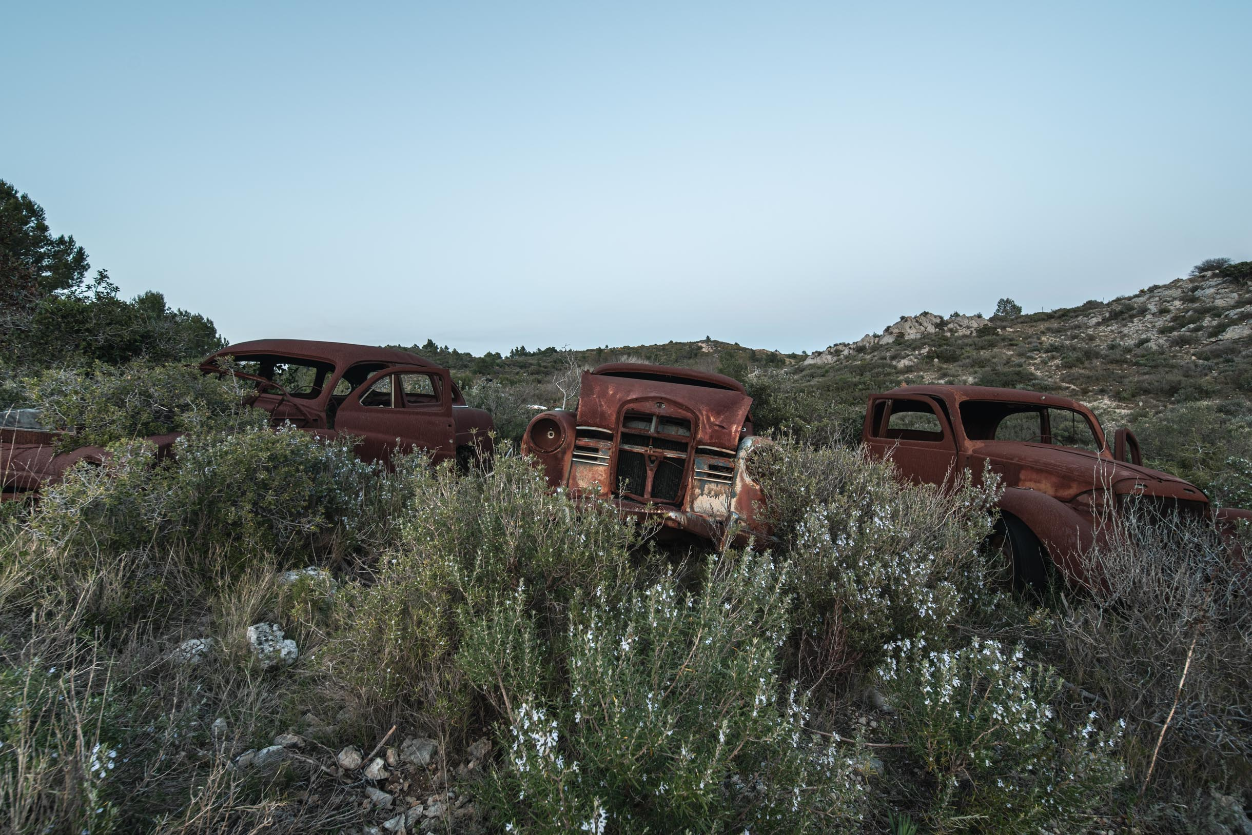 Lost Rusty Cars